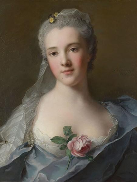 Jean-Marc Nattier, Manon Balletti, 1757, Oil on Canvas