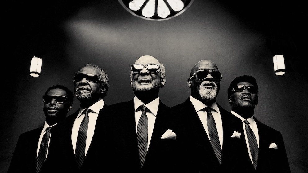 The Blind Boys of Alabama's new album, Almost Home, is out August 18. Jim Herrington/Courtesy of the artist