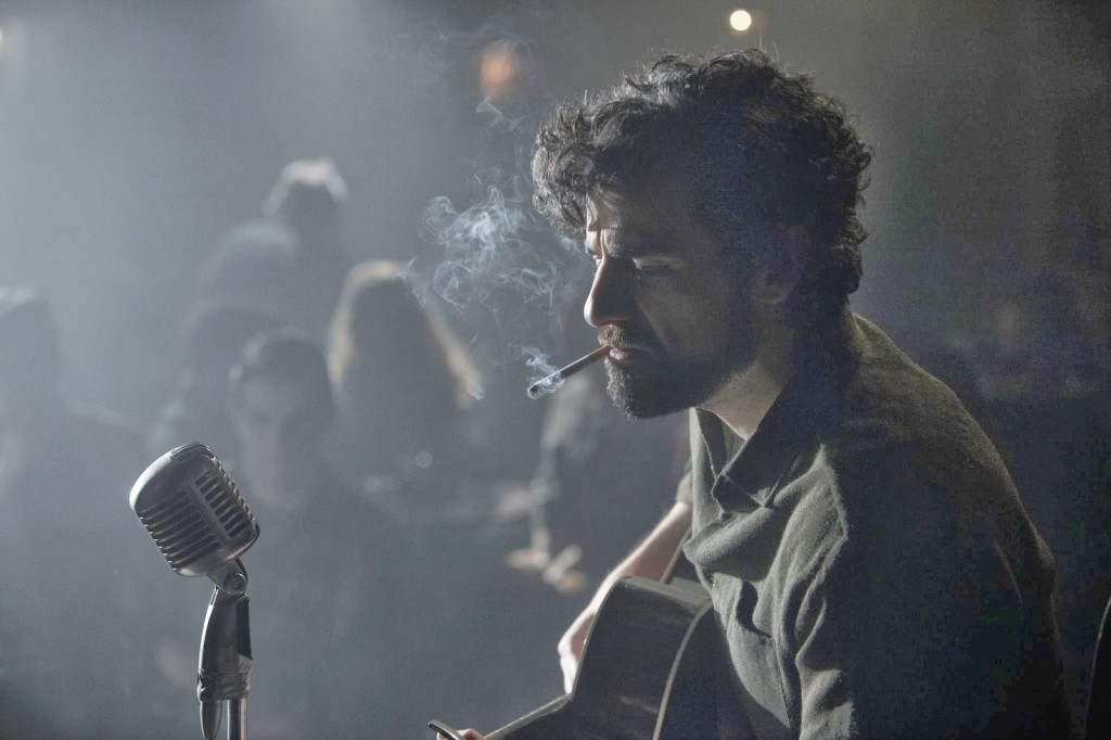 Oscar Isaac as the titular character in Joel and Ethan Coen's Inside Llewyn Davis. Photo: Alison Rosa/Courtesy of the artist