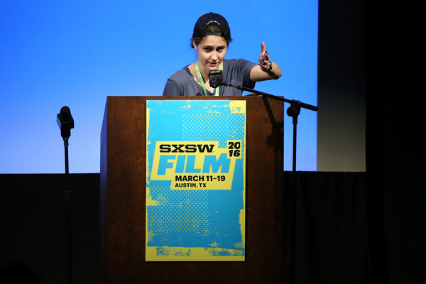 Filmmaker Alexia Salingaros at South by Southwest in 2016.