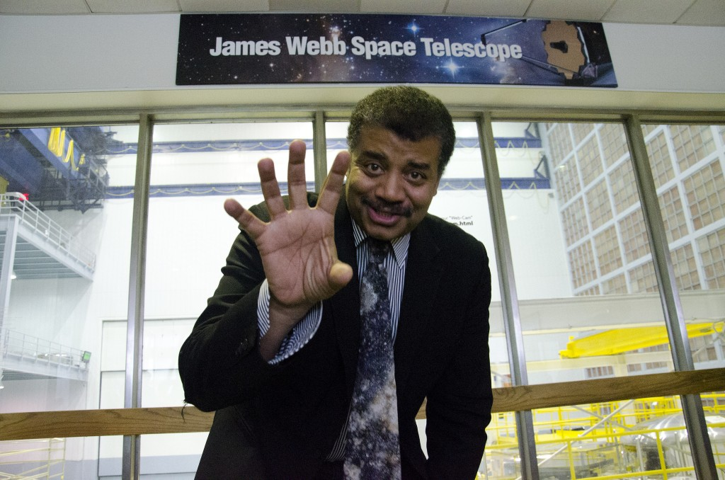 Neil deGrasse Tyson Photo: NASA Goddard Space Flight Center