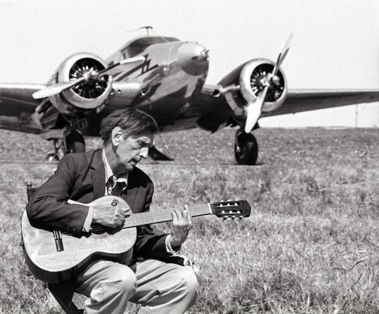 Harry Dean Stanton, Set of Wendell Baker Story, Circleville, Texas, September 22, 2003. Photo: Laura Wilson