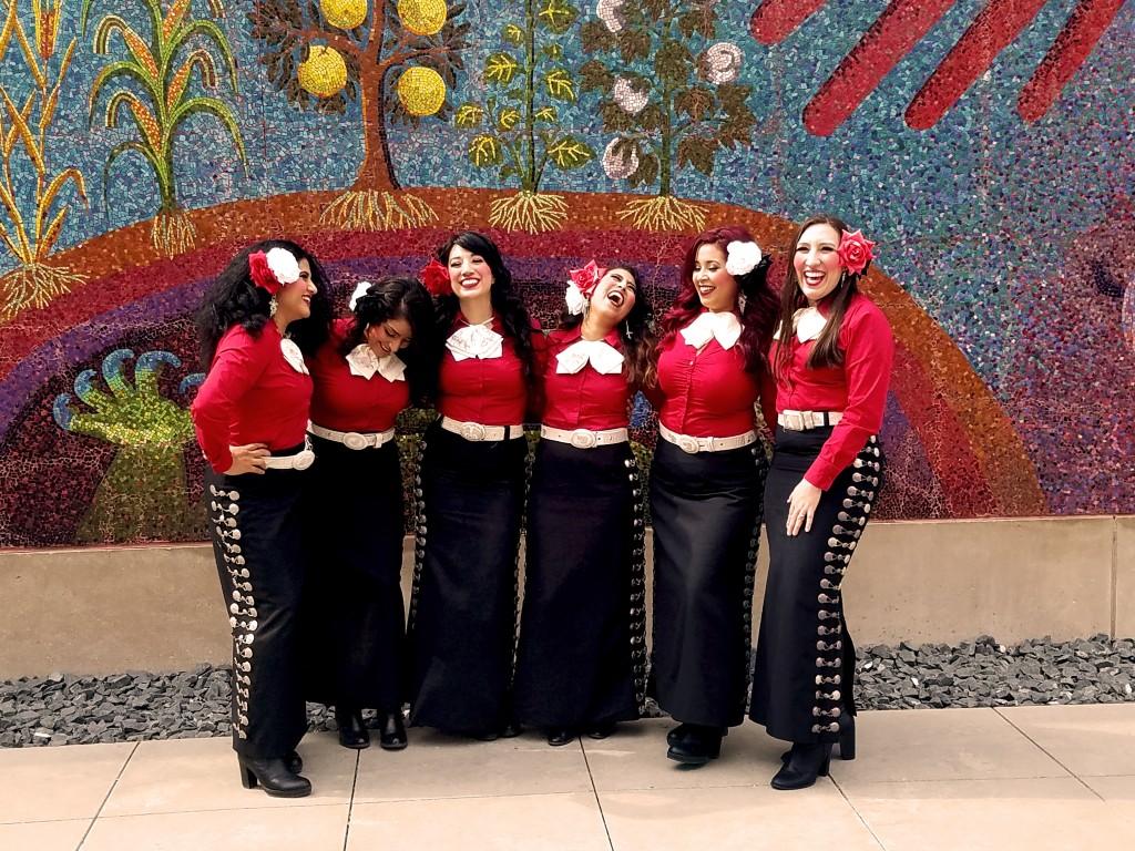 Mariachi Rosas Divinas Photo: Dallas Morning News