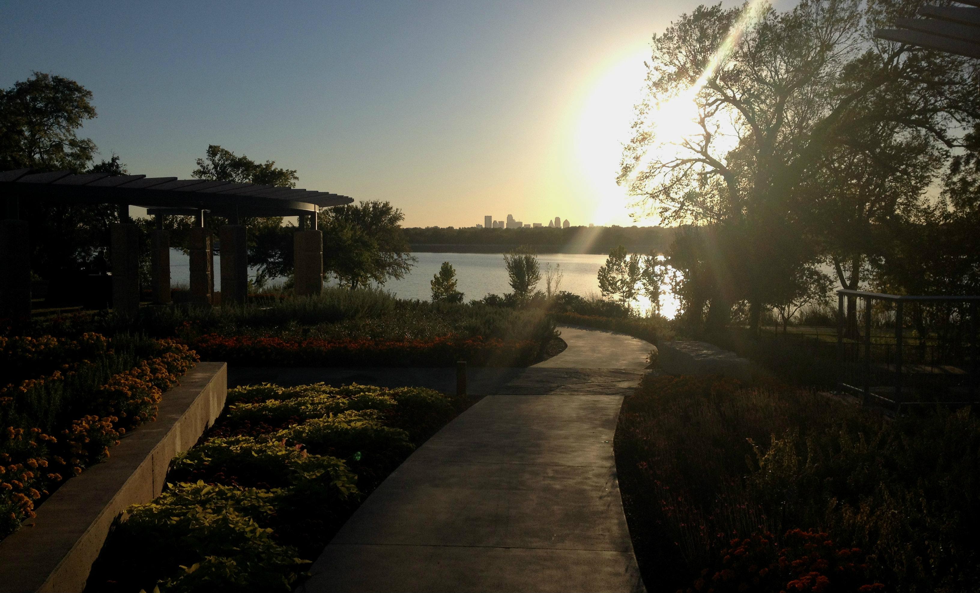 new Arboretum pavilion
