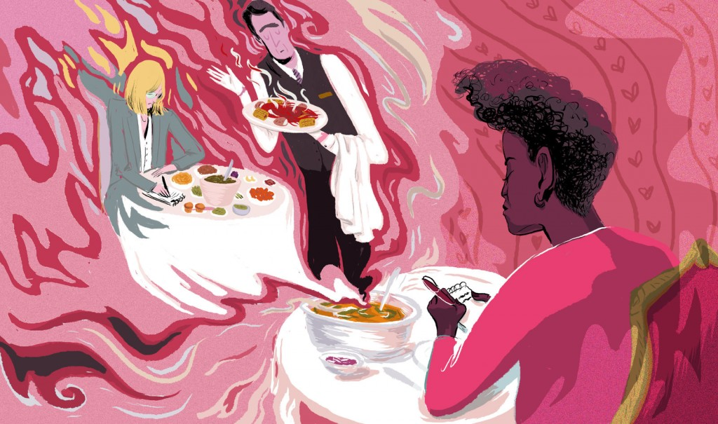Americans are more curious about different cuisines than ever before. But who gets to write about these cuisines, and which ones get covered? Image: LA Johnson/NPR