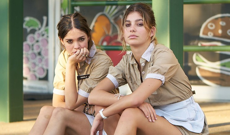 Maia Mitchell (left) and Cami Morrone star in Never Goin' Back, the new comedy film from director Augustine Frizzell that's headed to the Sundance Film Festival next month.