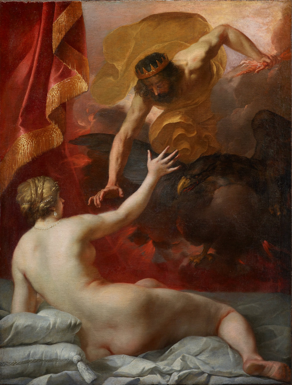 Jacques Blanchard, SMALL Zeus and Semele, c