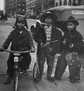 John Albok, Harlem (Three Cowboys), 1938
