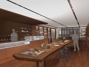 Lotus Shop - rendering by Oglesby Greene Architects