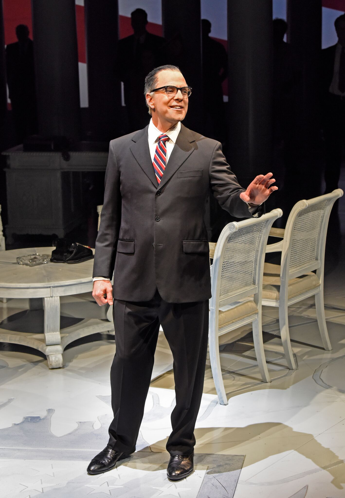 Brandon Potter as LBJ in The Great Society - Photo by Karen Almond_preview