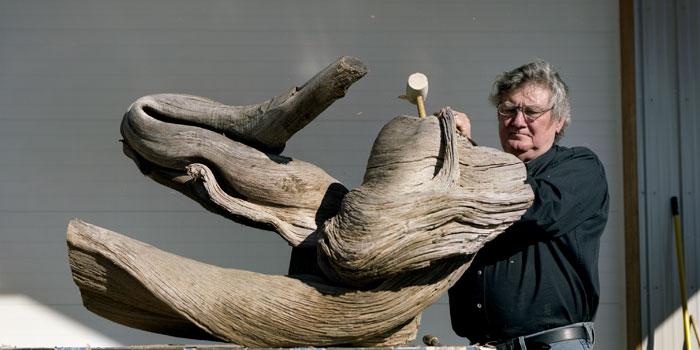 'Through the Thorn Tree' – A Conversation With Sculptor James Surls  Art&Seek  Arts, Music