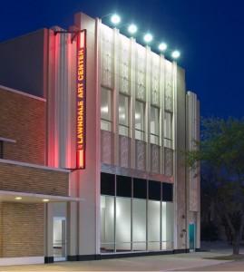 Lawndale Art Center Building on Main Street in Houston, TX. Photo: lawndaleartcenter.org