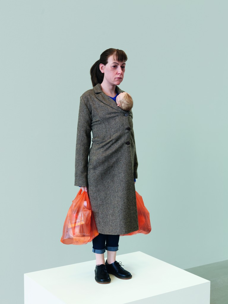 """Woman With Shopping"" by Ron Mueck."
