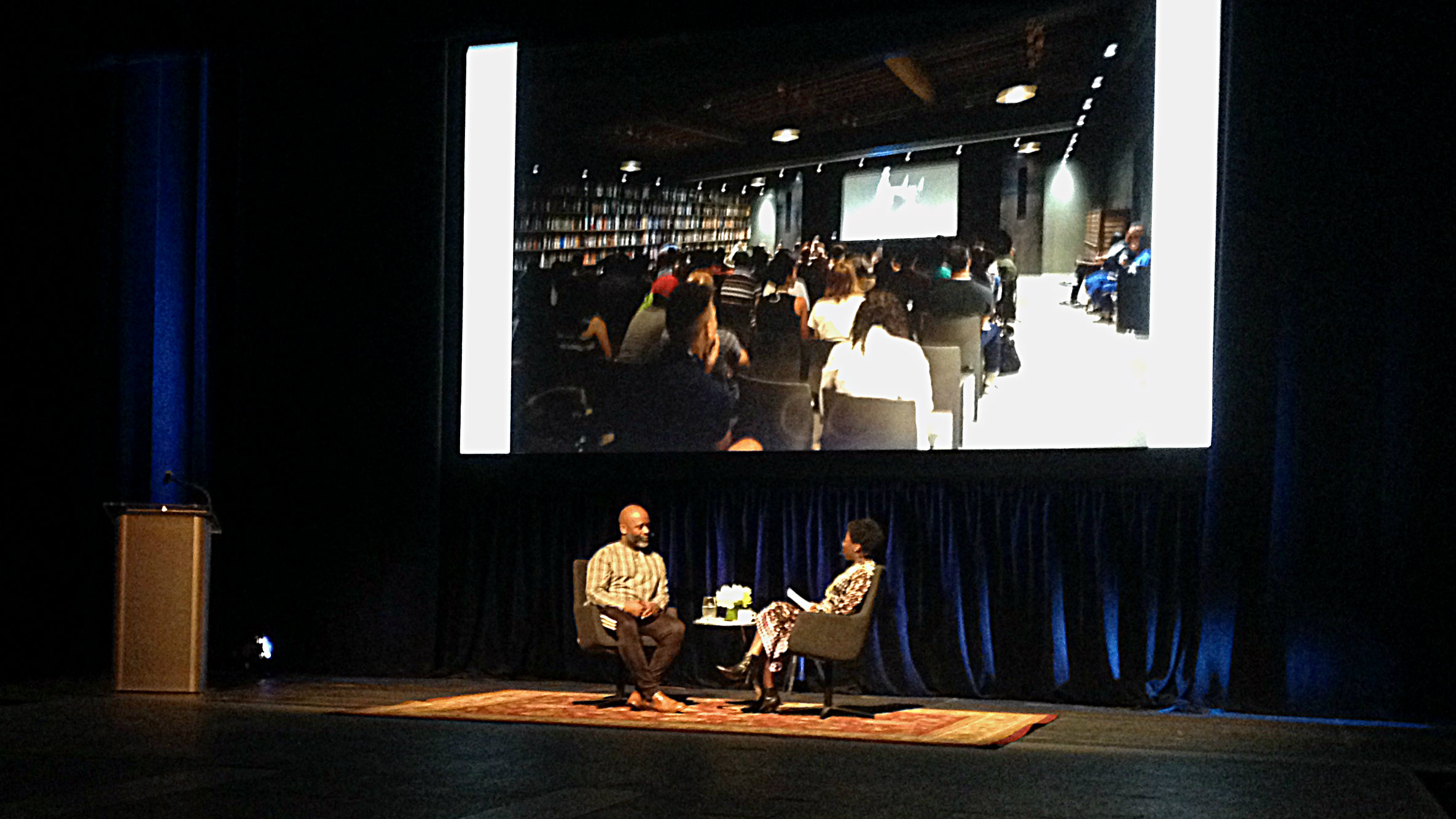 Theaster Gates and Thelma Golden