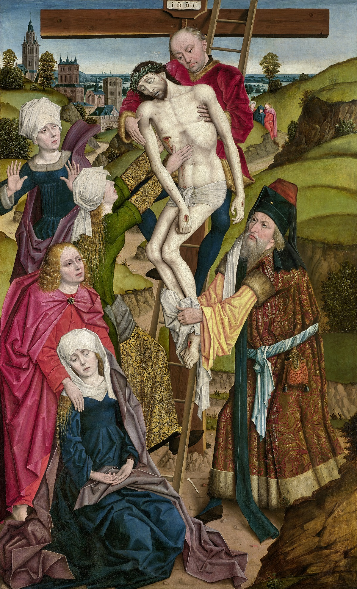 Derick Baegert, The Descent from the Cross, Dallas Museum of Art