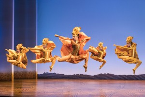 Lionesses Dance in THE LION KING North American Tour ©Disney. Photo by Deen van Meer.