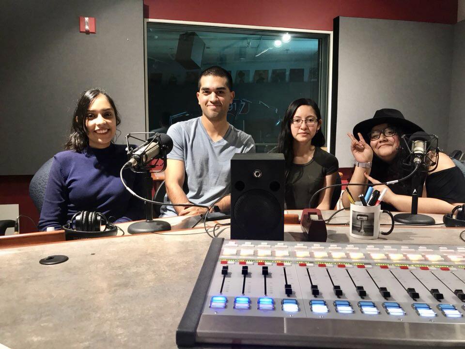 Kpop Dallas members Xochitl Lozano, Aaron Lopez, Delia Alcaron and Liliana Tinoco