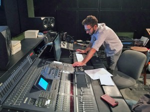 Micah Hayes heads UTA's Music Industry Studies program and runs the week-long summer audio production camp for budding high school producers.