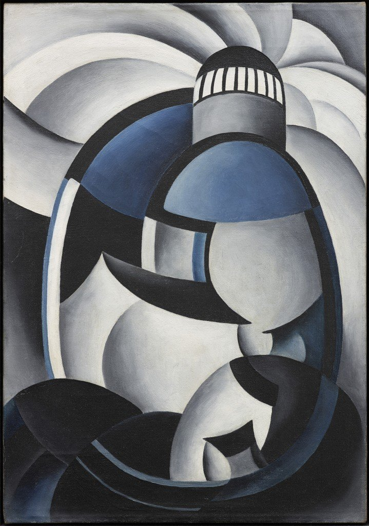 da-Ten-Eyck-OKeeffe-Variation-on-a-Lighthouse-Theme-II-before-1932-oil-on-canvas-Private-Collection.jp