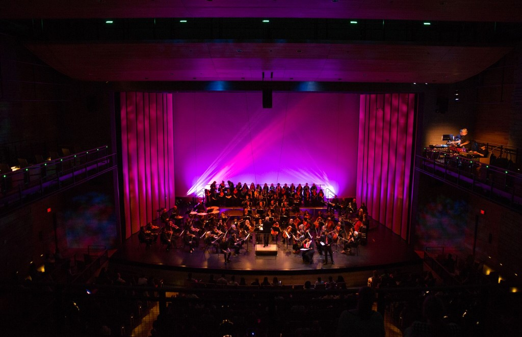 Dallas Symphony Orchestra, performing in 2018. Photo: Sylvia Elzafon.
