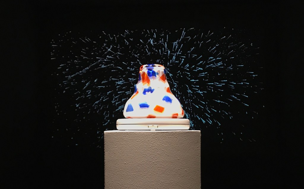 """Firework"" with ""Glass Jello,"" by Liss LaFleur"