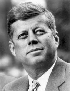 Photo portrait of John F. Kennedy, President of the United States. Photo: White House Press Office (WHPO) - John F. Kennedy Presidential Library and Museum