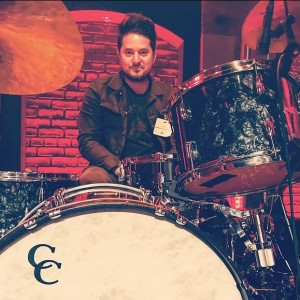Former One O'Clock Lab Band drummer McKenzie Smith has played around the globe. Here's a shot from soundcheck at the Late Night with Seth Meyers. Photo: mckenziesmithmusic.com