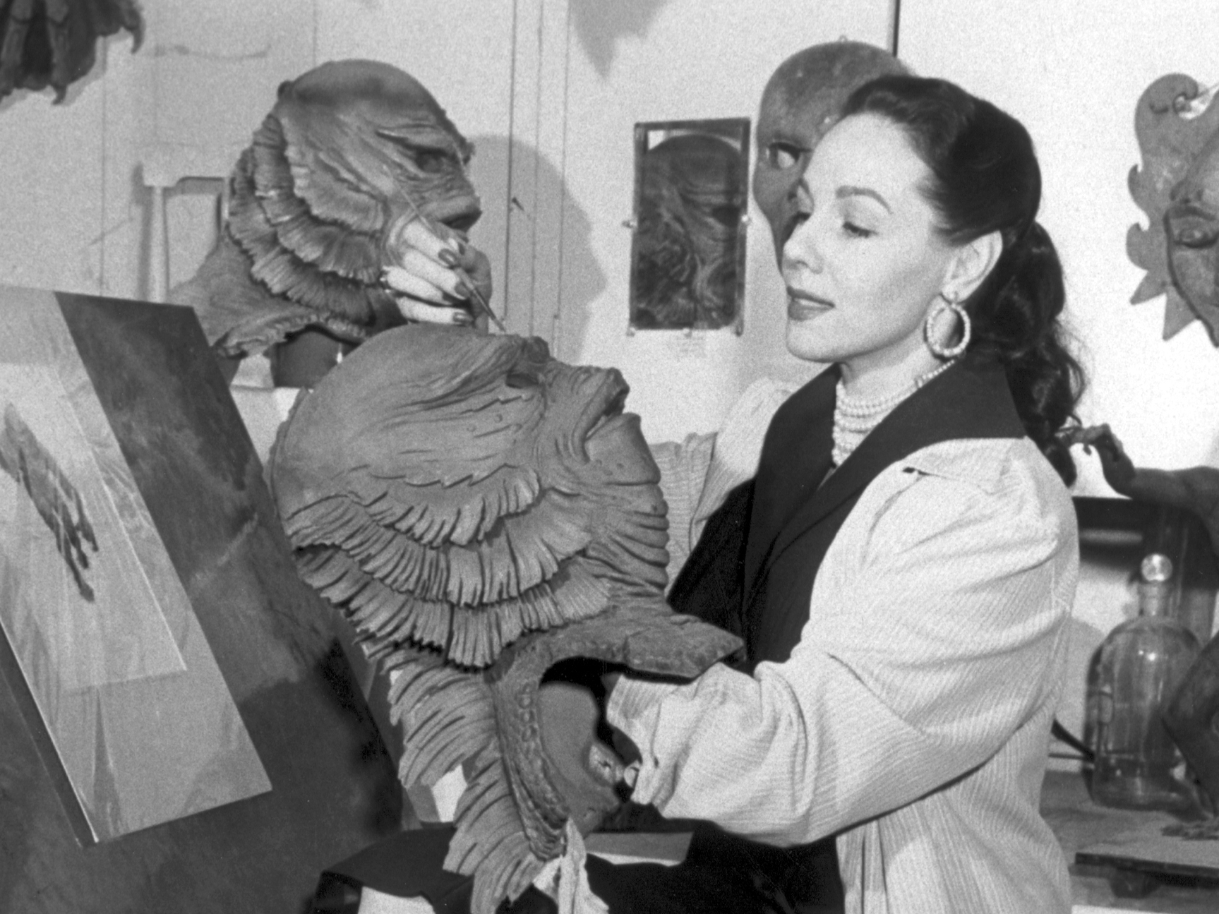 The Forgotten Woman Who Designed The Creature From The Black