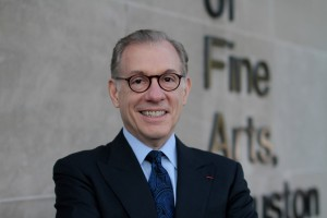 Gary Tinterow, photographed at the Museum of Fine Arts, Houston. Photo: Courtesty Museum Fine Arts, Houston