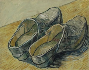 'A Pair of Leather Clogs,' autumn 1889. Photo: Courtesy Museum Fine Arts, Houston