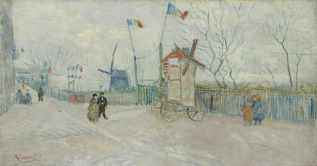 "Vincent van Gogh's ""Impasse des deux frères,"" (1887). Van Gogh Museum, Amsterdam (Vincent van Gogh Foundation) Photo: Courtesty Museum Fine Arts, Houston"
