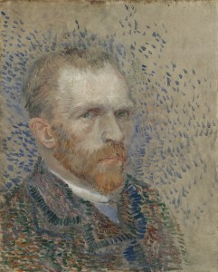 "Vincent van Gogh's ""Self-Portrait."" Van Gogh Museum, Amsterdam (Vincent van Gogh Foundation) Photo: Courtesty Museum Fine Arts, Houston"
