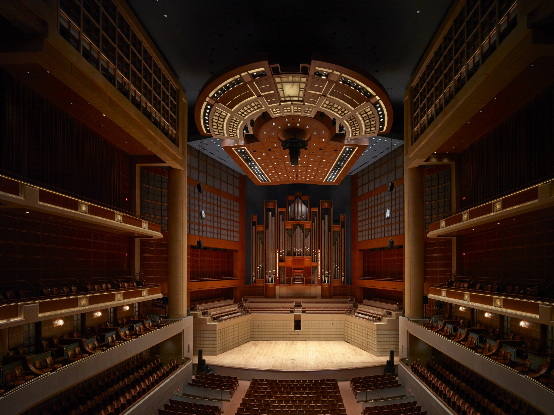 Myerson Symphony Hall Auditorium