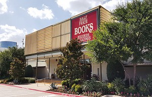 The entrance to the Half Price Books HQ in Dallas. Photo: hpb.com