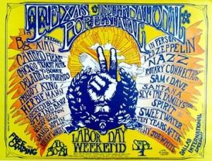 Poster for the Texas International Pop Festival. Photo: https://en.wikipedia.org/wiki/File:TexasIPF.jpg