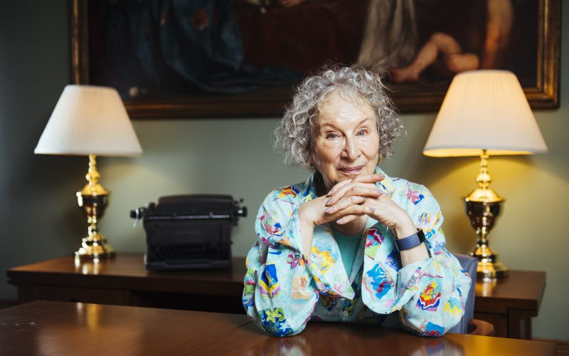 Margaret Atwood Photo: courtesy Associated Press