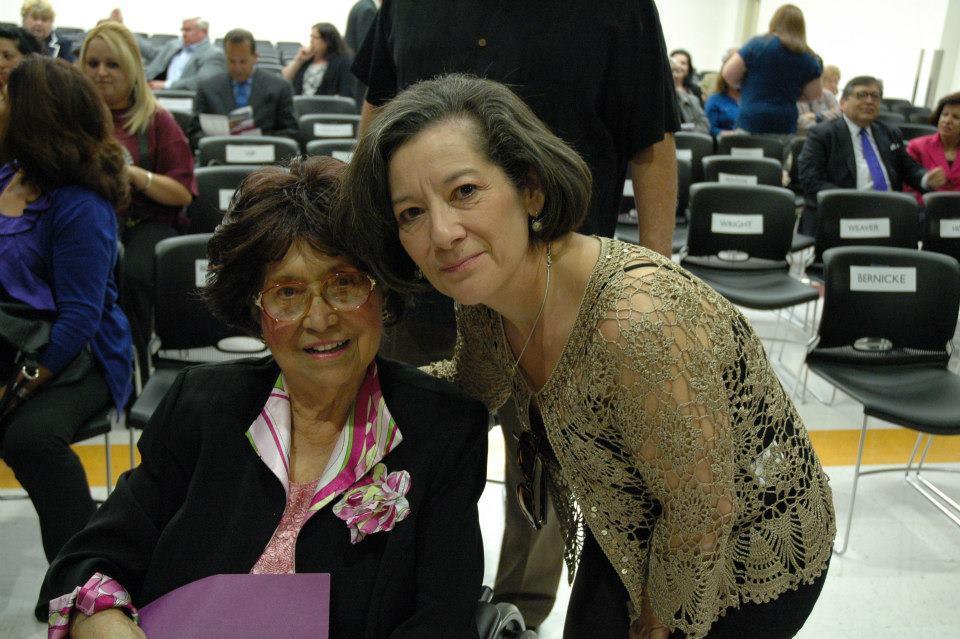 Diana Orozco-Garrett and Adelfa Callejo