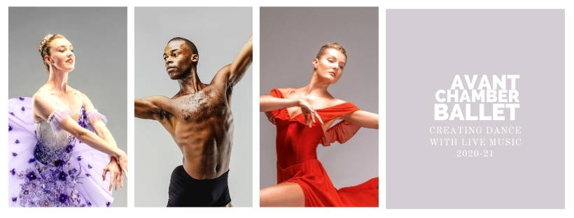 Promotional image featuring three dancers.