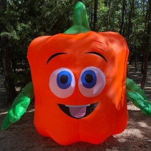 """Inflatable """"Spookley the Square Pumpkin"""""""