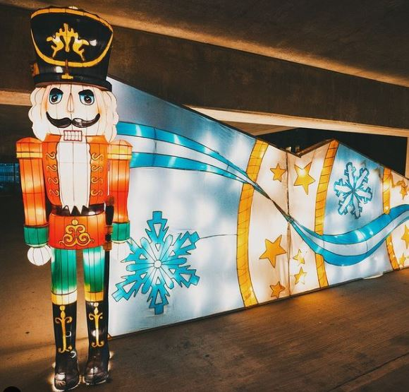 Lighted Life-Sized Nutcracker